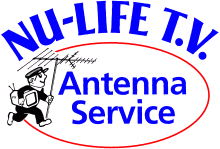 Nu Life TV Antenna Logo Colour
