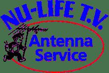 Nu Life TV Antenna Logo Colour