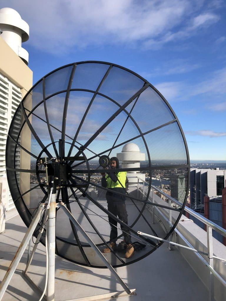 3m satellite dish