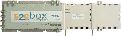 Terra S2C box TDT Headend