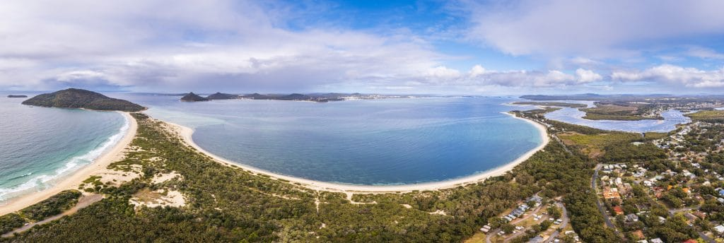 Nelson Bay in NSW