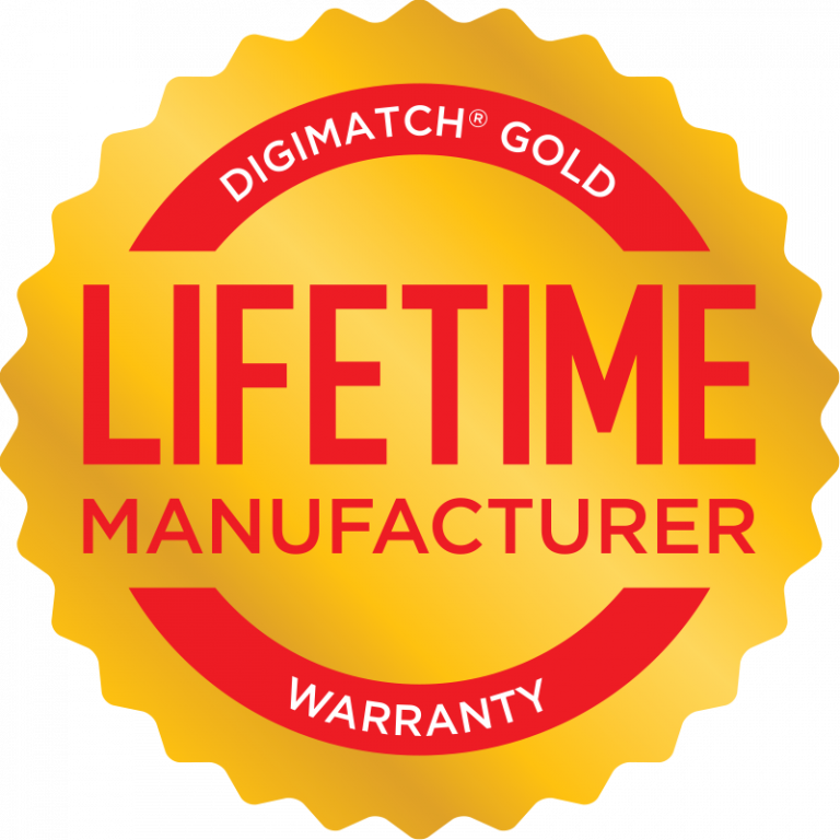 Matchmaster Lifetime Warranty